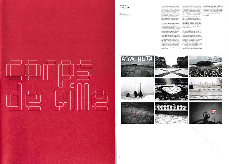 Catalogue de l'exposion de la Biennale d'architecture et photographie de la Cambre de Bruxelles