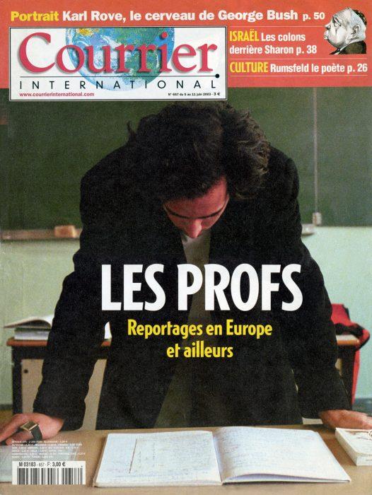 Couverture du Courrier International