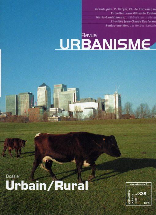 Couverture de la revue Urbanisme