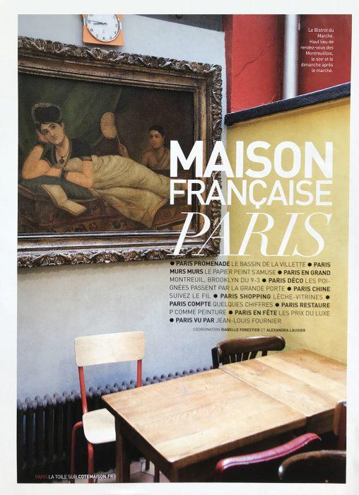 Publication dans Maison Française