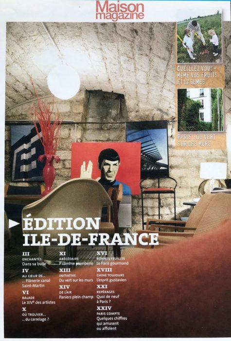 Publication dans Maison Magazine