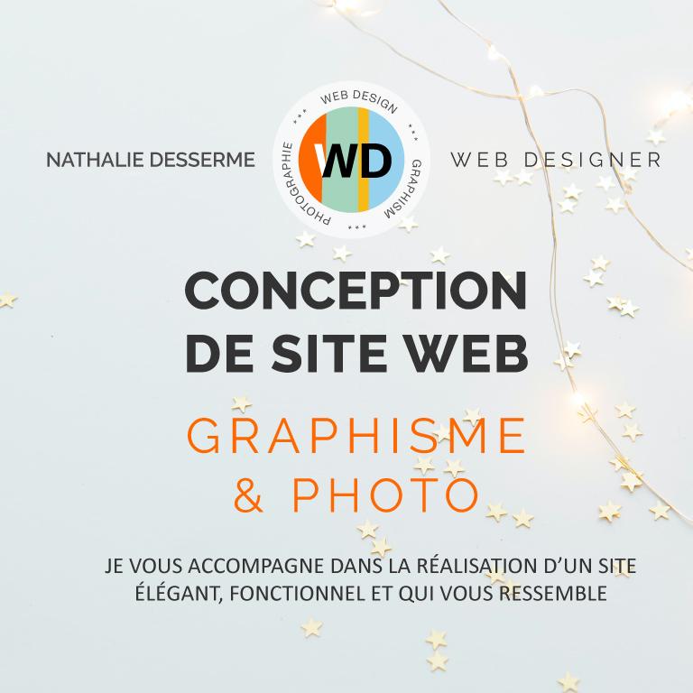 Bannière de présentation de création de site internet